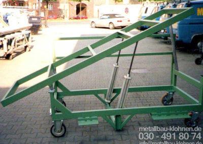 Transportwagen - Hydraulik