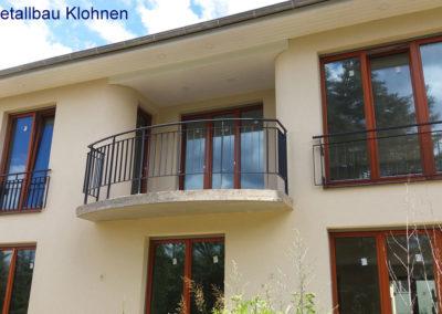 Runder Balkon