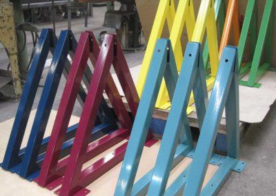 Trendige Farben für Tafelständer